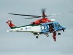 倉島さんが、新潟空港で撮影した新潟県消防防災航空隊 AW139の航空フォト(写真)