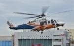 Soraya_Projectさんが、東京ヘリポートで撮影した三井物産エアロスペース AW139の航空フォト(写真)