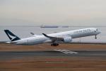 yabyanさんが、中部国際空港で撮影したキャセイパシフィック航空 A350-1041の航空フォト(飛行機 写真・画像)
