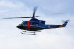 kaeru6006さんが、東京ヘリポートで撮影した警視庁 412EPの航空フォト(写真)