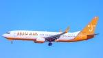 ケロリ/Keroriさんが、成田国際空港で撮影したチェジュ航空 737-8GJの航空フォト(写真)