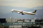 ansett747さんが、福岡空港で撮影したシンガポール航空 787-10の航空フォト(写真)