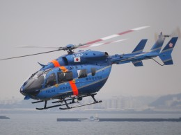 YFAR2さんが、横浜ヘリポートで撮影した神奈川県警察 BK117C-2の航空フォト(飛行機 写真・画像)