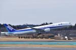 @たかひろさんが、成田国際空港で撮影した全日空 777-381/ERの航空フォト(写真)