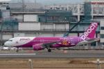 sg-driverさんが、福岡空港で撮影したピーチ A320-214の航空フォト(写真)
