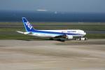 もぐ3さんが、羽田空港で撮影した全日空 767-381F/ERの航空フォト(写真)