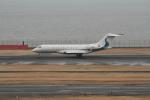 空旅さんが、羽田空港で撮影したウィルミントン・トラスト・カンパニー BD-700-1A11 Global 5000の航空フォト(写真)