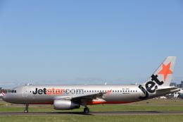 安芸あすかさんが、シドニー国際空港で撮影したジェットスター A320-232の航空フォト(飛行機 写真・画像)