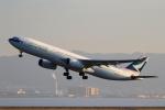 こだしさんが、関西国際空港で撮影したキャセイパシフィック航空 A330-343Xの航空フォト(写真)