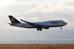 ハピネスさんが、関西国際空港で撮影したルフトハンザドイツ航空 747-430の航空フォト(写真)