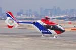 mild lifeさんが、伊丹空港で撮影した毎日新聞社 EC135T1の航空フォト(写真)