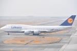 ANA&peachLOVEさんが、関西国際空港で撮影したルフトハンザドイツ航空 747-430の航空フォト(写真)