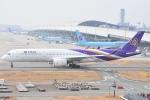 ANA&peachLOVEさんが、関西国際空港で撮影したタイ国際航空 A350-941XWBの航空フォト(写真)