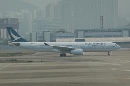 pringlesさんが、香港国際空港で撮影したキャセイパシフィック航空 A330-343Xの航空フォト(写真)