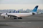 たみぃさんが、羽田空港で撮影したイラン・イスラム共和国政府 A340-313Xの航空フォト(飛行機 写真・画像)