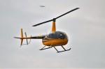 ヘリオスさんが、東京ヘリポートで撮影した会社所有 R44の航空フォト(写真)