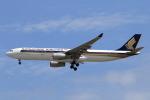 ★azusa★さんが、シンガポール・チャンギ国際空港で撮影したシンガポール航空 A330-343Xの航空フォト(写真)