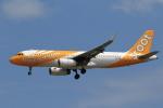 ★azusa★さんが、シンガポール・チャンギ国際空港で撮影したスクート A320-232の航空フォト(写真)