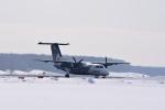 ひこ☆さんが、新千歳空港で撮影したオーロラ DHC-8-201Q Dash 8の航空フォト(写真)