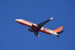 ひこ☆さんが、新千歳空港で撮影したチェジュ航空 737-8ASの航空フォト(写真)