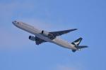 ひこ☆さんが、新千歳空港で撮影したキャセイパシフィック航空 777-31Hの航空フォト(写真)