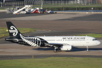 安芸あすかさんが、シドニー国際空港で撮影したニュージーランド航空 A320-232の航空フォト(写真)