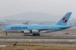 mototripさんが、仁川国際空港で撮影した大韓航空 A380-861の航空フォト(写真)
