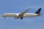 ★azusa★さんが、シンガポール・チャンギ国際空港で撮影したサウディア 787-9の航空フォト(写真)