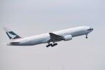 kumagorouさんが、成田国際空港で撮影したキャセイパシフィック航空 777-267の航空フォト(飛行機 写真・画像)