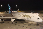 安芸あすかさんが、メルボルン空港で撮影したエミレーツ航空 A380-861の航空フォト(写真)
