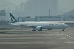 pringlesさんが、香港国際空港で撮影したキャセイパシフィック航空 777-367/ERの航空フォト(写真)