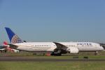 安芸あすかさんが、シドニー国際空港で撮影したユナイテッド航空 787-9の航空フォト(写真)