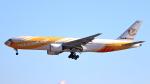 誘喜さんが、成田国際空港で撮影したノックスクート 777-212/ERの航空フォト(写真)