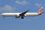 ★azusa★さんが、シンガポール・チャンギ国際空港で撮影したヴァージン・オーストラリア 777-3ZG/ERの航空フォト(写真)