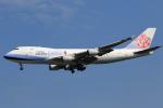 ★azusa★さんが、シンガポール・チャンギ国際空港で撮影したチャイナエアライン 747-409F/SCDの航空フォト(写真)