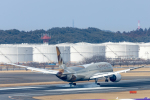Y-Kenzoさんが、成田国際空港で撮影したエティハド航空 787-9の航空フォト(写真)