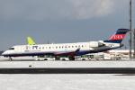 セブンさんが、新千歳空港で撮影したアイベックスエアラインズ CL-600-2C10 Regional Jet CRJ-702ERの航空フォト(飛行機 写真・画像)