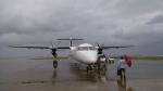 AlphaWing737ケインさんが、久米島空港で撮影した琉球エアーコミューター DHC-8-402Q Dash 8 Combiの航空フォト(写真)