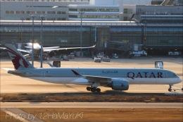 はまゆきさんが、羽田空港で撮影したカタール航空 A350-941XWBの航空フォト(写真)