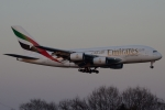 木人さんが、成田国際空港で撮影したエミレーツ航空 A380-861の航空フォト(写真)
