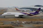 徳兵衛さんが、関西国際空港で撮影したタイ国際航空 A350-941XWBの航空フォト(写真)