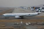 徳兵衛さんが、関西国際空港で撮影したキャセイパシフィック航空 A330-343Xの航空フォト(写真)