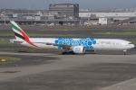 ぐっちーさんが、羽田空港で撮影したエミレーツ航空 777-31H/ERの航空フォト(写真)