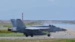 オキシドールさんが、岩国空港で撮影したアメリカ海軍 F/A-18E Super Hornetの航空フォト(写真)