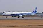 JA56SSさんが、伊丹空港で撮影した全日空 A321-211の航空フォト(写真)