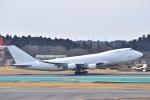 @たかひろさんが、成田国際空港で撮影したウィルミントン・トラスト・カンパニー 747-4KZF/SCDの航空フォト(写真)