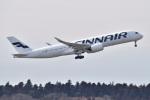 @たかひろさんが、成田国際空港で撮影したフィンエアー A350-941XWBの航空フォト(写真)