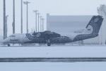 たみぃさんが、新千歳空港で撮影したオーロラ DHC-8-315Q Dash 8の航空フォト(写真)
