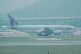 pringlesさんが、香港国際空港で撮影したカタール航空カーゴ 777-FDZの航空フォト(写真)