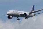 isiさんが、羽田空港で撮影したユナイテッド航空 787-9の航空フォト(写真)